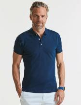 Men`s Fitted Stretch Polo